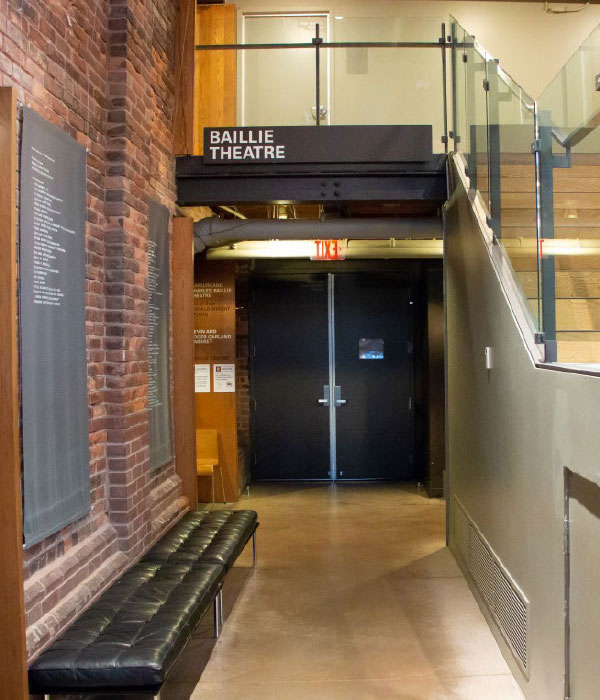 baillie theatre entrance